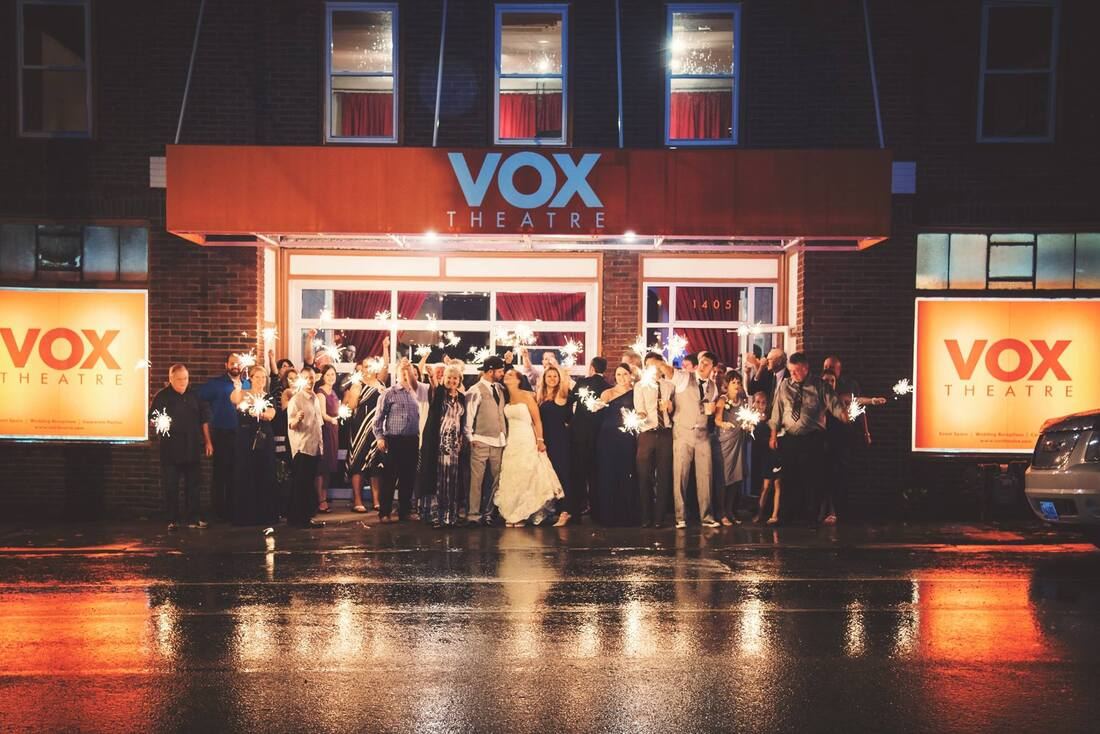 The Vox Theatre - now, a perfect venue for weddings, company events, and all in-between